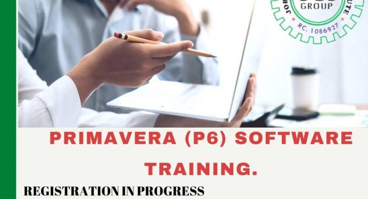 PRIMAVERA P6 SOFTWARE TRAINING