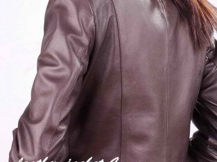 Butte Slim Fit Leather Jacket
