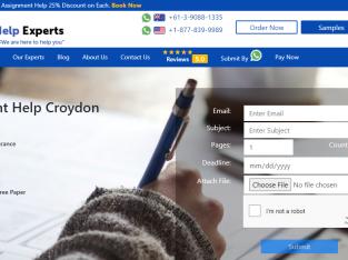 Assignment Help Croydon