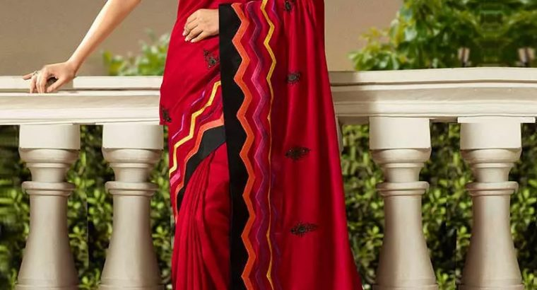 printed saree for women