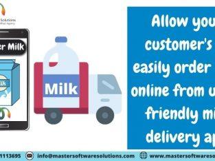 Milk Delivery App Services
