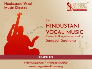 Sangeet Sadhana – Hindustani Classical Music classes and Vocal Music classes in Bangalore