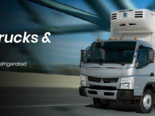 Dubai Chiller Trucks | Chiller Van for rent in Dubai