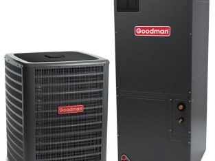 Goodman 5 Ton 15.5 SEER 60000 BTU Heat Pump AC System