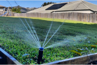 Wifi controlled automatic irrigation system