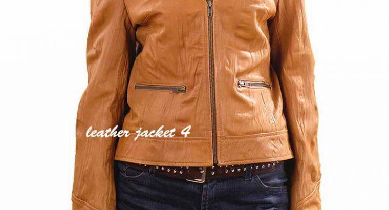 Emily Leather Jacket