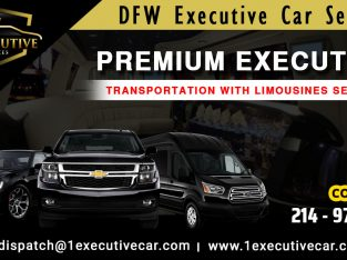 Luxury limousine Texas