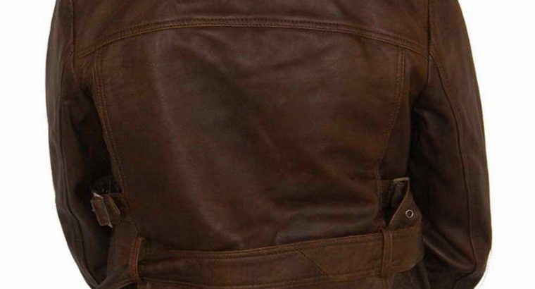 Lenexa Biker Leather Jacket