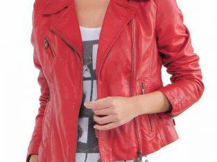 NEO Women Biker Leather Jacket