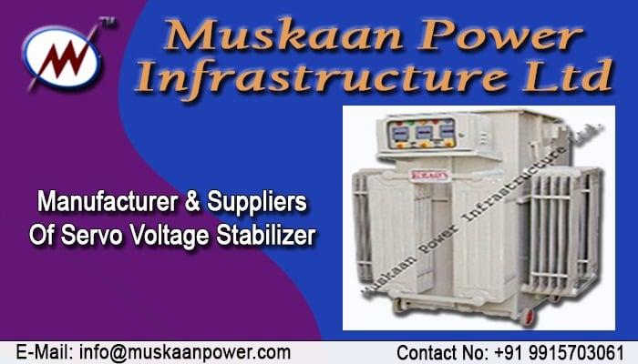Brand Servo Controlled Voltage Stabilizer Manufacturers & Exporters