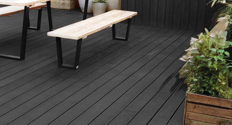 Adorn Your Outdoor Space With Black Composite Decking Boards   Deckorum