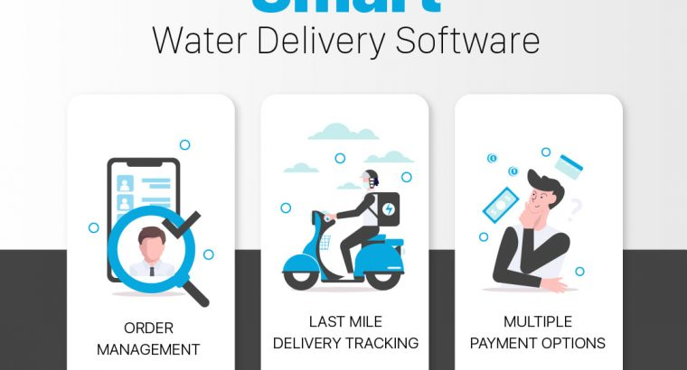 Water Delivery Management Software