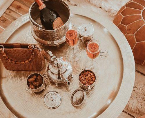 Luxury dining morocco