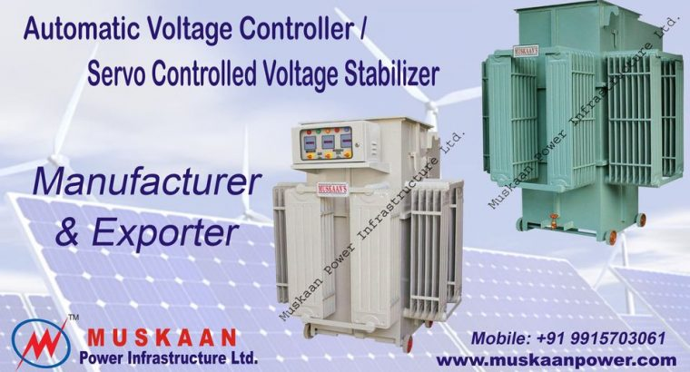 Best Quality Automatic voltage controllers Manufacturers & Suppliers in India