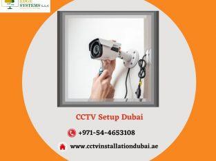 High Quality Security Camera Setup in Dubai