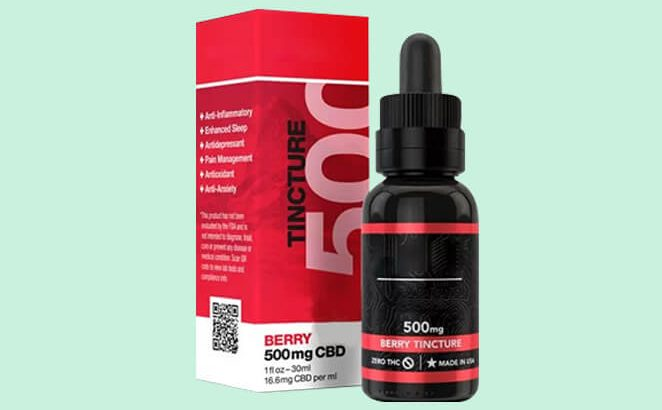Get Custom CBD Berry Oil Boxes of eye-catching design in the USA