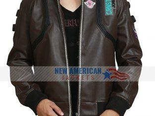 Best Cyberpunk 2077 Samurai Leather Jacket