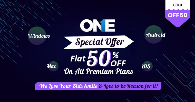 Avail Coupon OFF50 & Get TheOneSpy 50% discount
