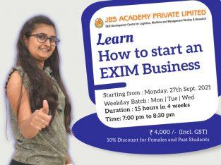 Best EXIM Business | JBS Academy