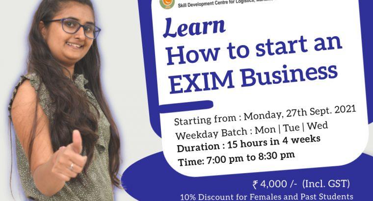 Best EXIM Business   JBS Academy