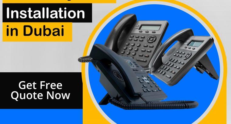 Trained IP Phone Installation Providers in Dubai
