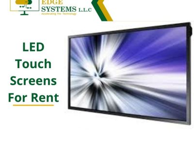 Latest Touch Screen Rentals Help With Brand Promotion in Dubai