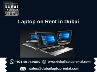 Get Laptops on Rent in Dubai at Affordable Prices