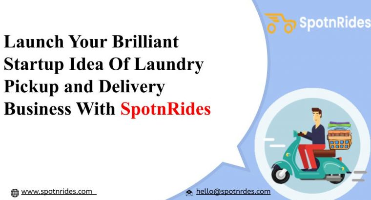 SpotnRides – Get Uber for Laundry app that satisfies your customer's laundry needs