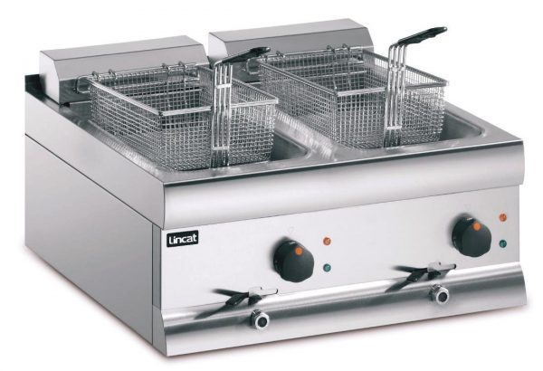 Buy Lincat Twin Tank Twin Basket Countertop Electric Fryer DF618 at Affordable Prices
