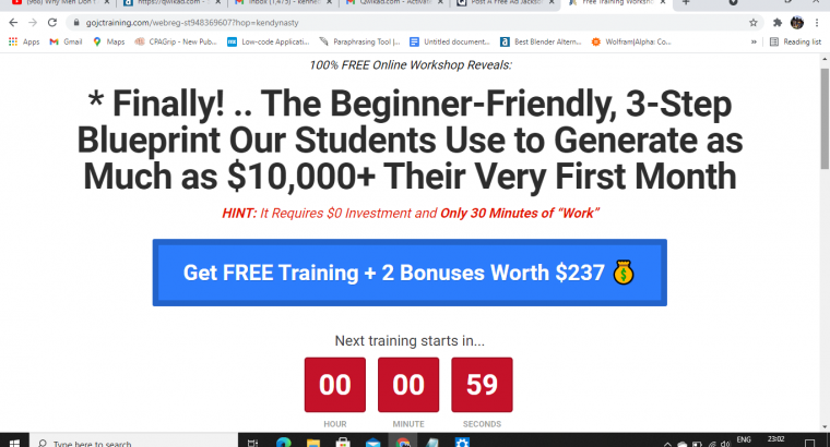 Work from home, make an extra $4,000/month with Affiliate marketing