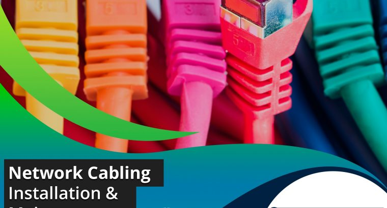 Hassle Free Network Cabling Services in Dubai