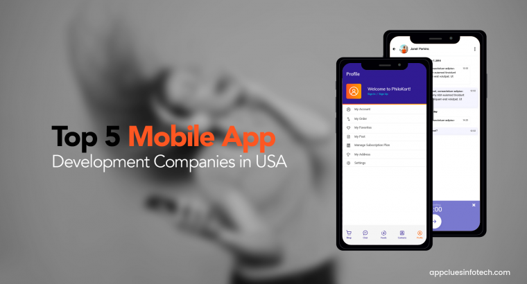 Top Mobile App Development Agencies in USA