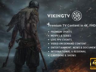 VIKINGTV LIVE – IPTV SERVICE