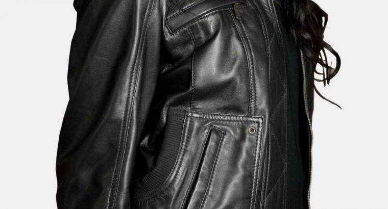 Avignon Leather Jacket Women