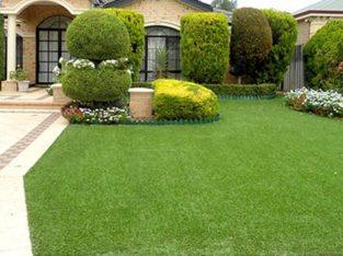 Faux Grass Installation Plantation