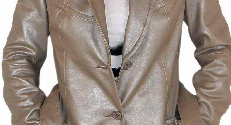 Whitefish Leather Coat