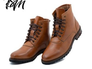 HIGH – TOP VEGAN LEATHER BOOTS   The Shoemaker