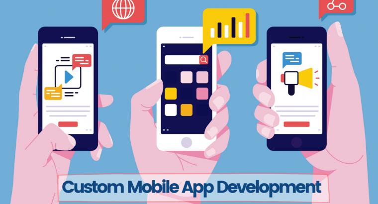 Custom Mobile App Development Agency in USA