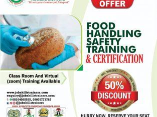 FOOD HANDLING SAFETY TRAINING