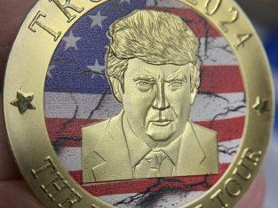 FREE Donald Trump 2024 Gold Coin.