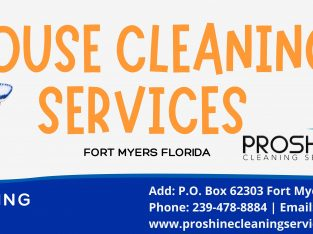 Ft. Myers House cleaning services