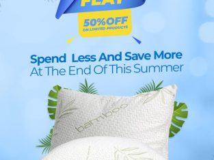Ventilated Memory foam Pillow | Pack of 1