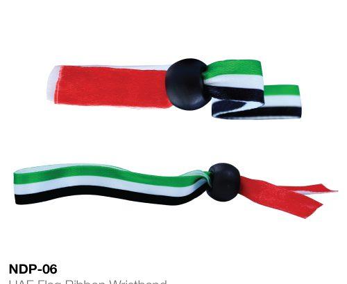 UAE National Day Flag Ribbon Wristbands
