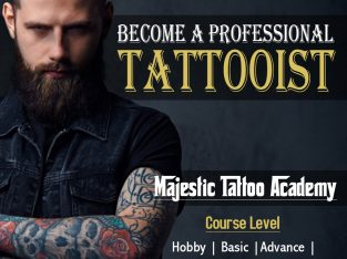 Professional Tattoo Academy in Palakkad | Majestic Makeover