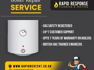 Emergency boiler repair services London