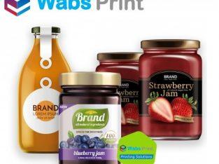 Custom Labels – Buy Printed Custom Labels Wholesale in the UK