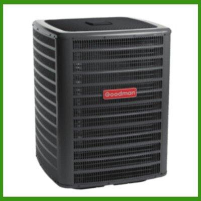 Goodman 2 Ton 16 SEER 23600 BTU Air Conditioner Condenser GSX16S241
